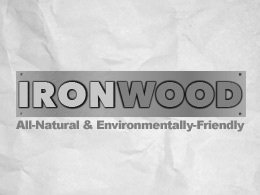 Iron Wood Logo