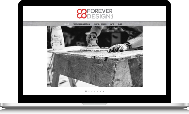 Forever Design Website