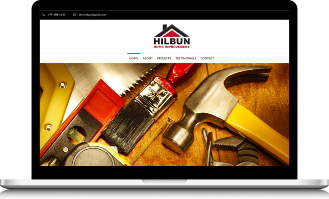 Hilbun Home Improvement Website