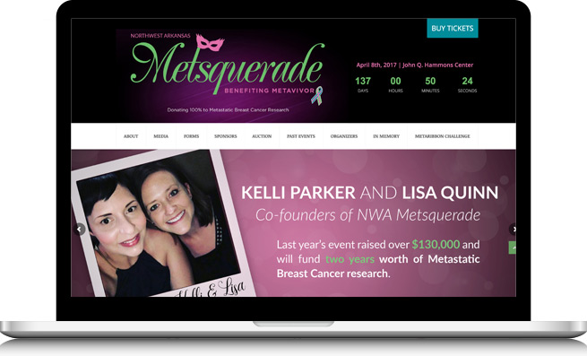 NWA Metsquerade Website