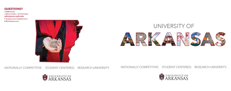 University of Arkansas Admissions Booklet